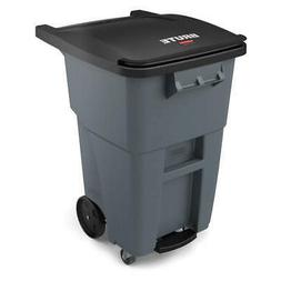 RUBBERMAID COMMERCIAL PRODUCTS 1971962 Trash Can,Free-Standi