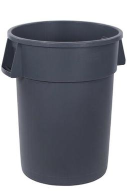 Carlisle 44 Gallon Trash Can Bronco Round Waste Container Gr