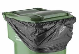 PlasticMill 64 Gallon Ultra Duty Trash Can Liners 2 Mil