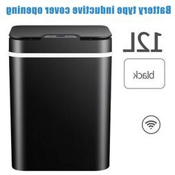 Automatic Trash Garbage Can Touchless Sensor Stainless Steel