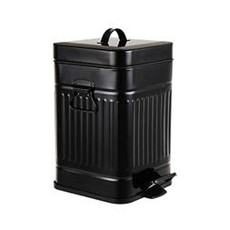 Bathroom Trash Can with Lid Small Wastebasket with Soft Clos