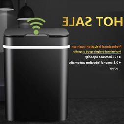 Bedroom Office Smart Sensor Trash Garbage Cans Mute Automati