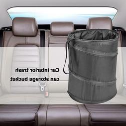 Foldable Car Truck Trash Can Rubbish Bin Waste Container Wat