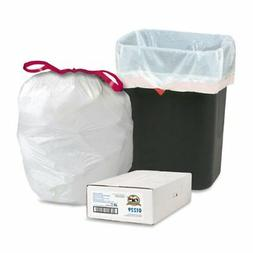 Genuine Joe GJO01229 Expandable Drawstring Trash Can Liner,