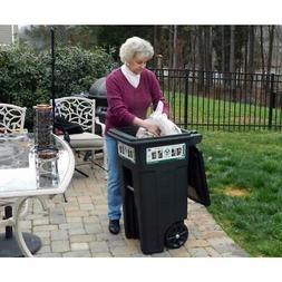 Greenstone Trash Can 32 Gal With Wheels Attached Lid Truck C