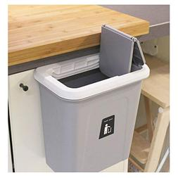 kary chef Hanging Trash Can,Small Cabinet Kitchen Trash Can,
