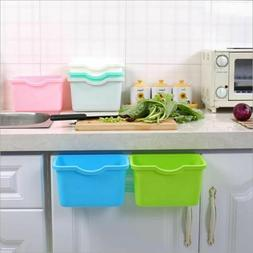 Kitchen Hanging Garbage Storage Box Home Cabinet Door Trash