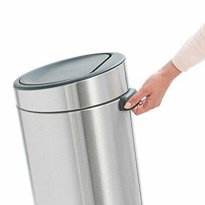 Brabantia Touch Trash Can New 8 White