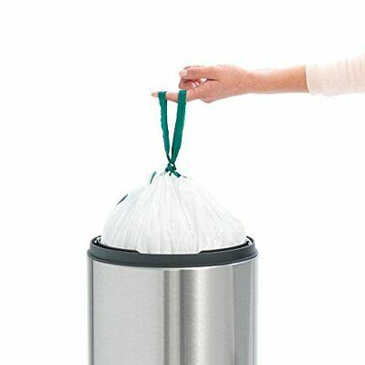 Brabantia Touch Trash New gallon White