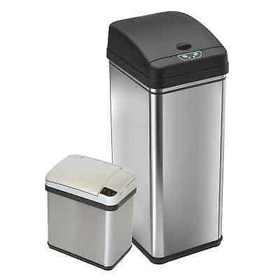 iTouchless 13 Gal and 2.5 Gal Deodorizer Sensor Touchless Si