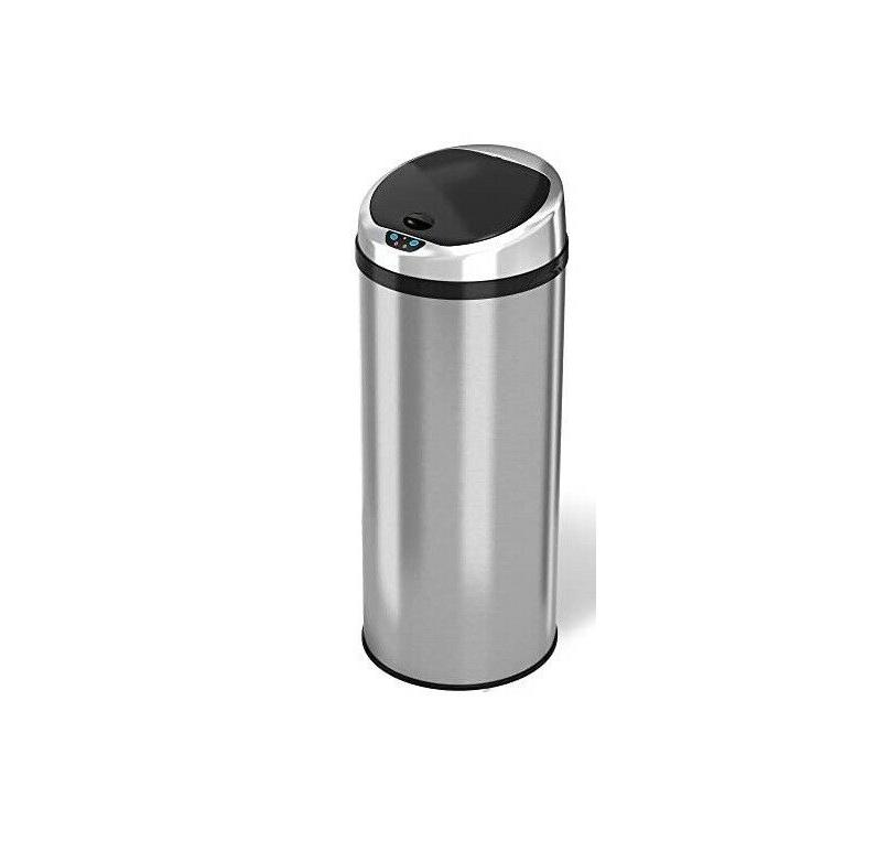 iTouchless Touchless Trash Can - Stainless FREESHIP
