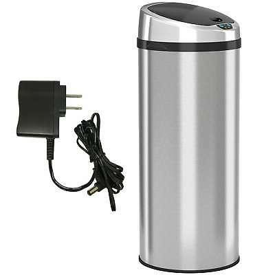 iTouchless 13 Gallon Automatic Stainless Steel Touchless Sil