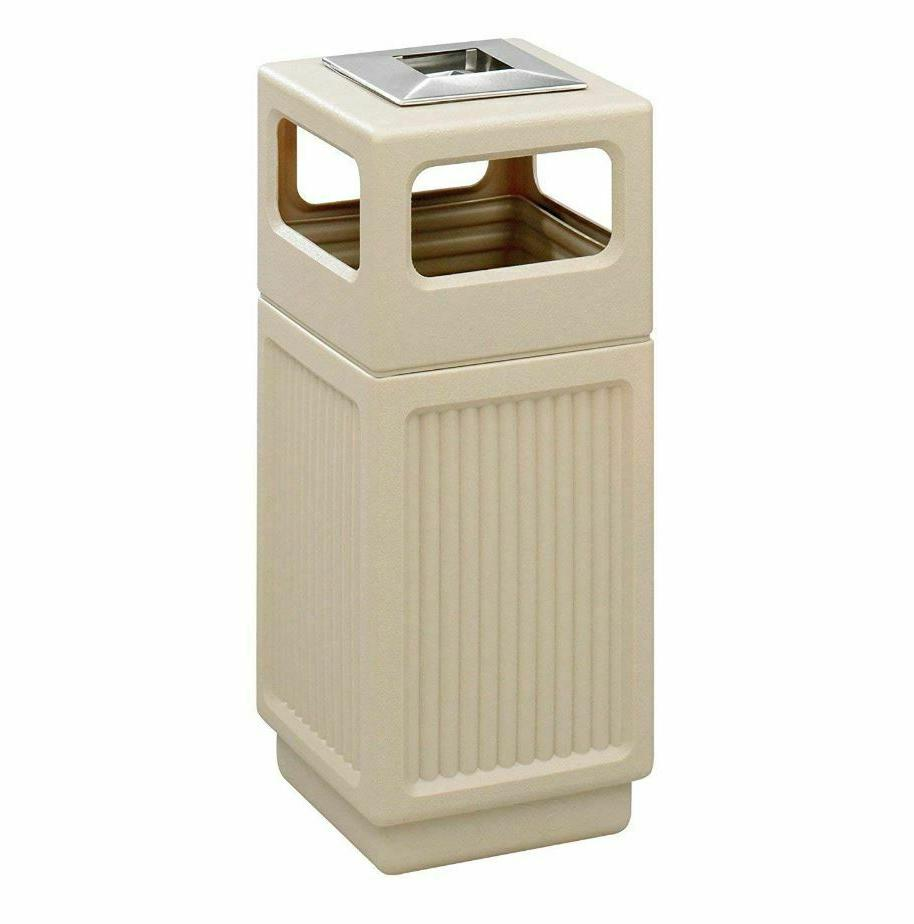 15g Trash Can 15 Gallon Commercial Outdoor Indoor Ash Tray G