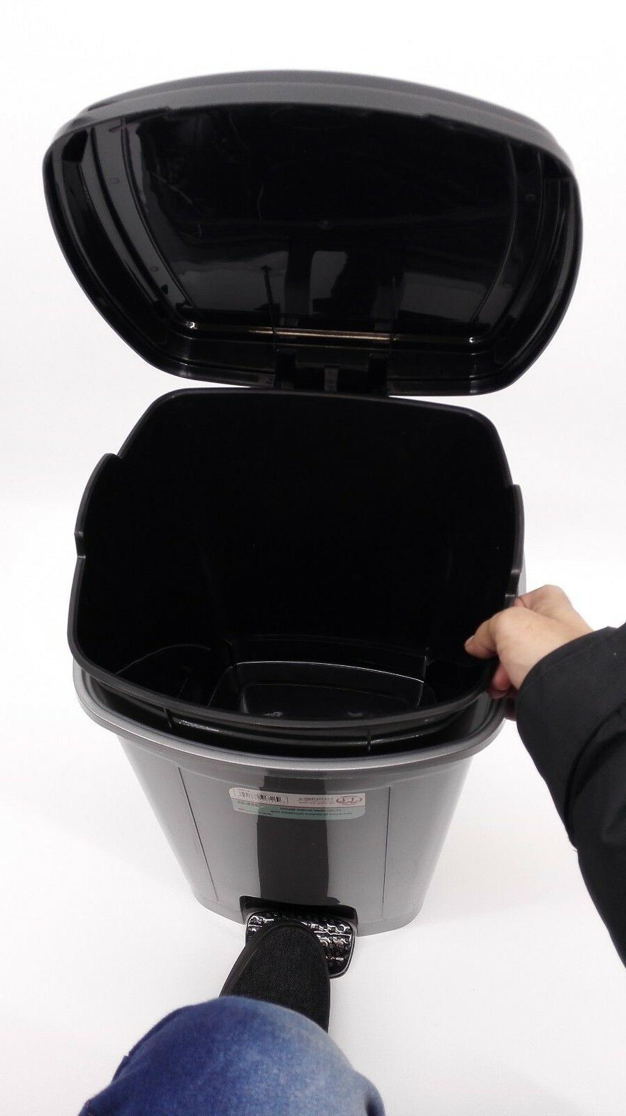 Pedal Dustbin Trash Can For Room,22/12/6