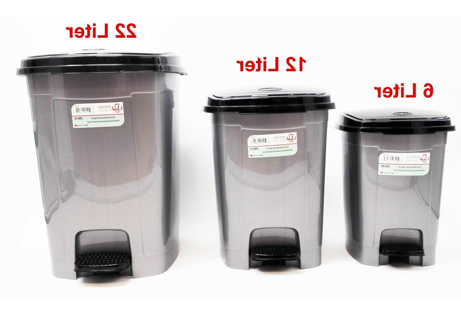 288 pedal dustbin trash can for toilet