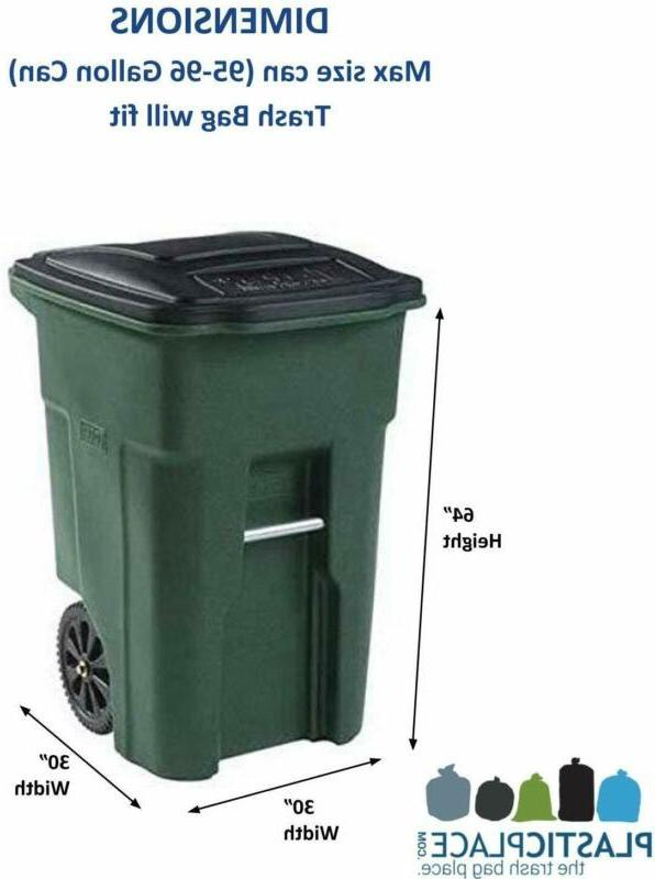 Garbage Can Clear Trash Outdoor Kit