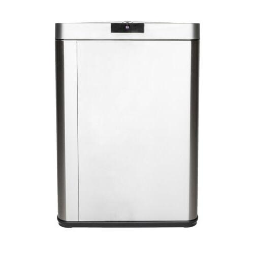 Automatic Stainless Steel Trash Garbage Touch Motion