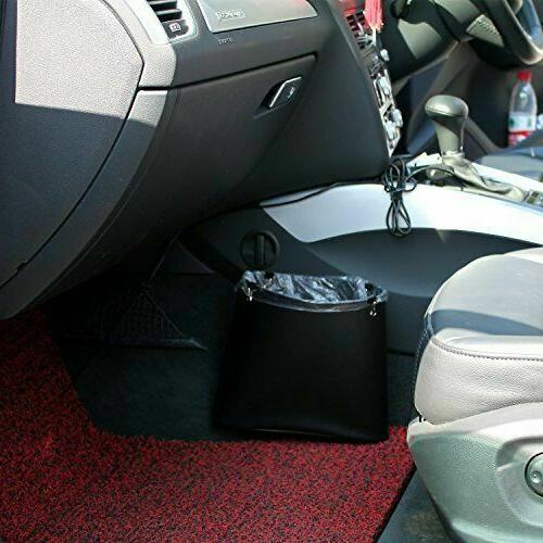 Car Can, PU Leather, Trash for Vehicle