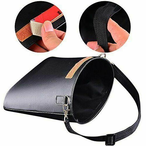 Car Trash Can, PU Leather, Can for Travelling, & Vehicle