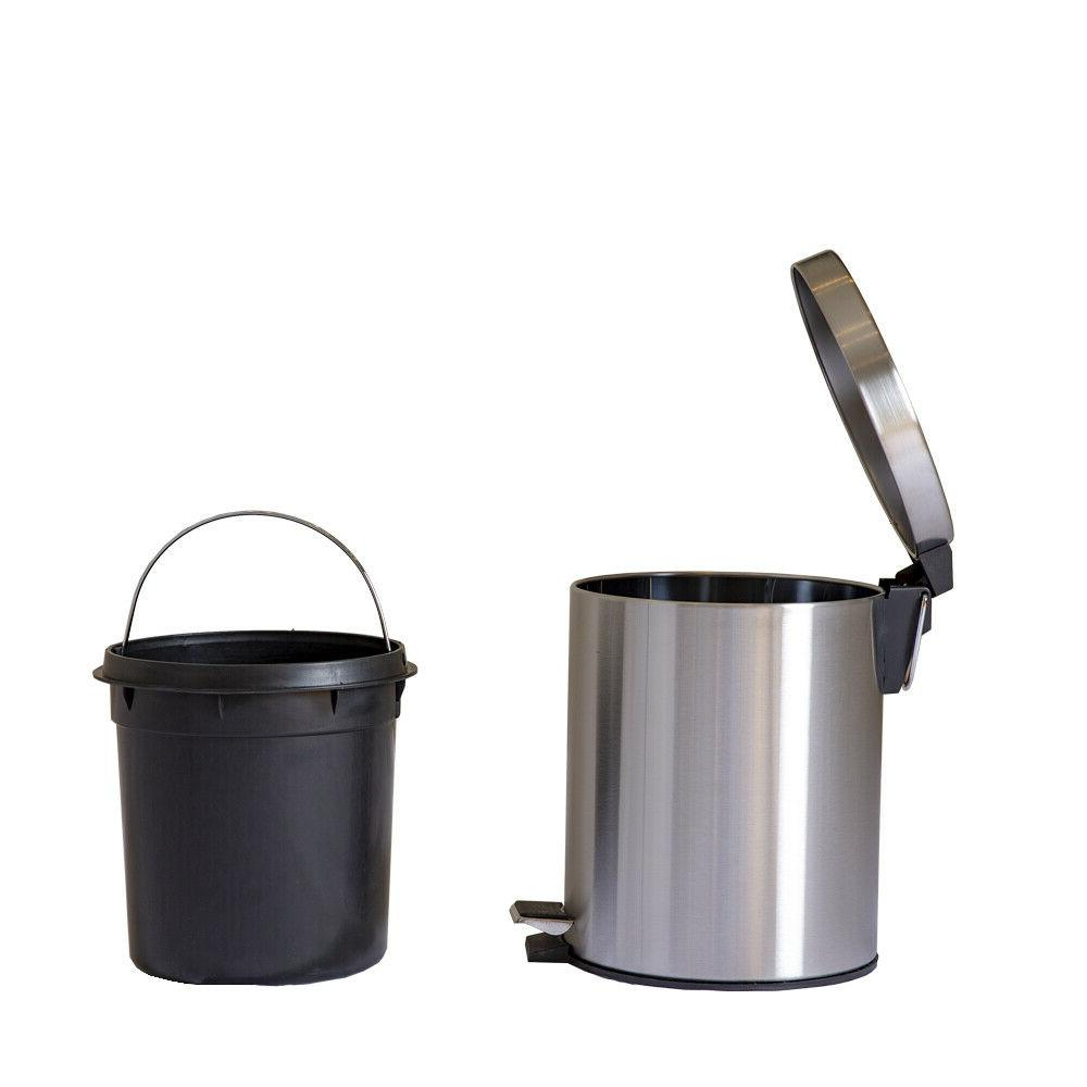 Combo 1.3 Gallon Can with Removable Stainless