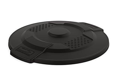 commercial utility trash can lid