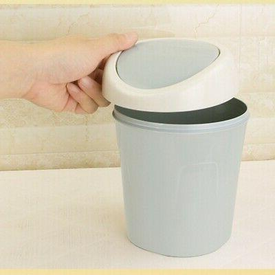 Small Trash Can, Bathroom Trash Can with Lid Small Trash Can