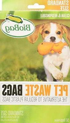 BioBag Dog Waste Bags, 50 ct