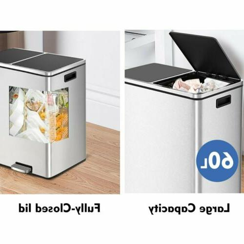 16 Dual Can Fashion Kitchen Office