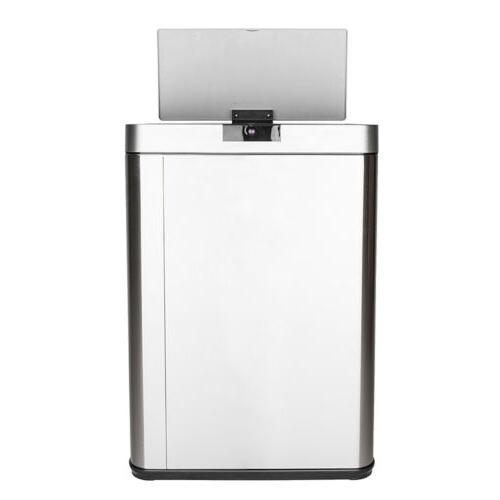 13 Steel Automatic Trash Touchless Kitchen