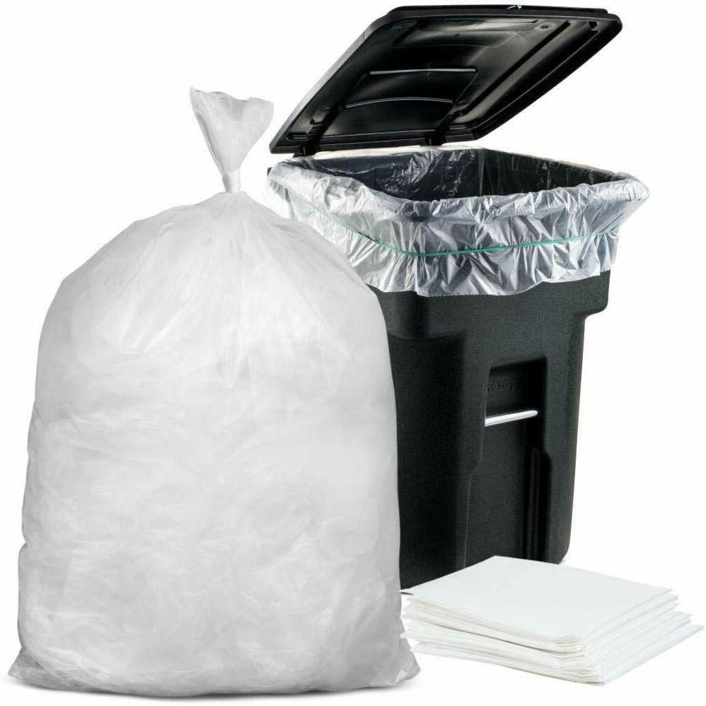 garbage can liners clear trash bags drum