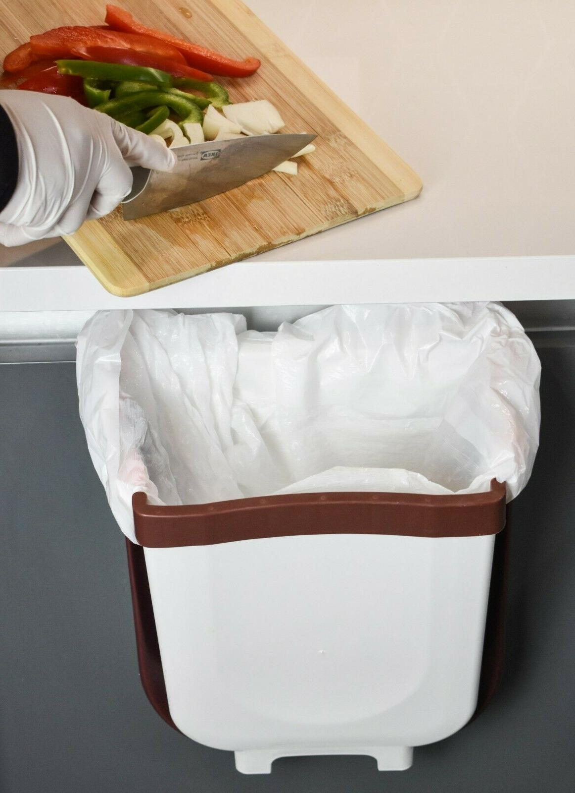 Hanging can for Kitchen Folding Bin, Collapsible