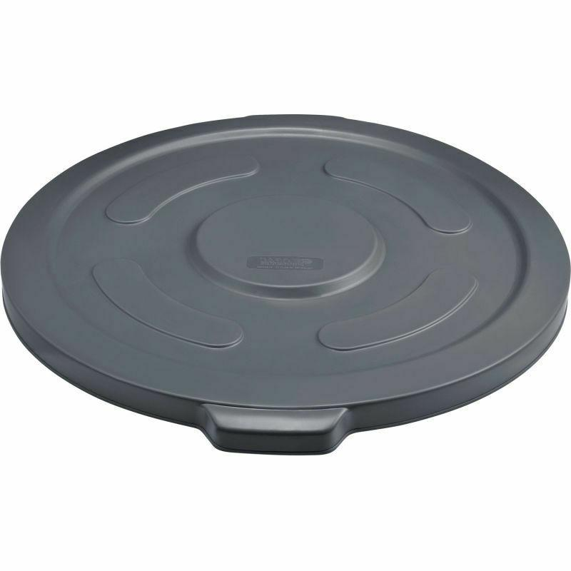 Long Resin Trash Container Lid, Can - Gallon