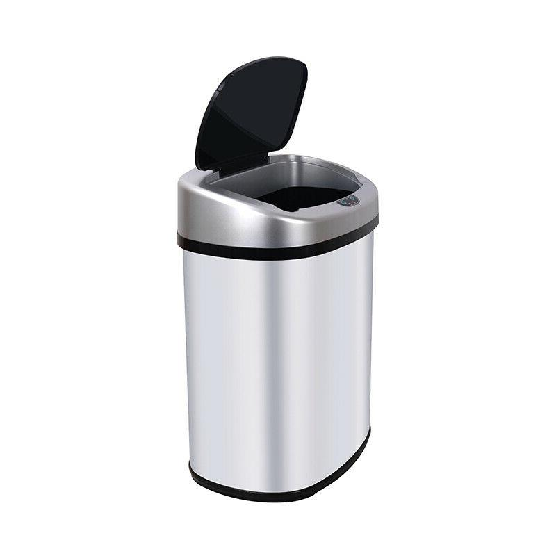 New 13-Gallon Touchless Trash Office US