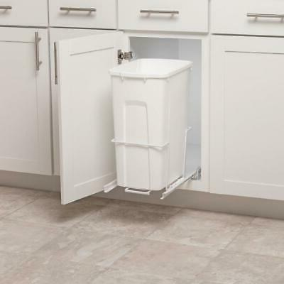 Plastic Pull Out Trash Can Kitchen