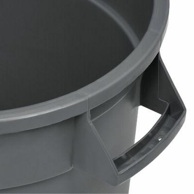 Global Industrial Container, Garbage - 10 Gray