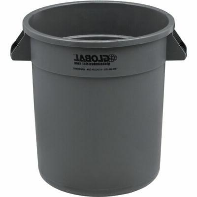 plastic trash container garbage can 10 gallon