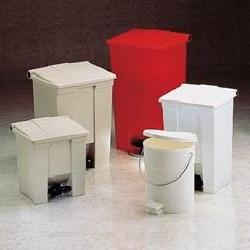RCP6143WHI - Indoor Utility Step-On Waste Container