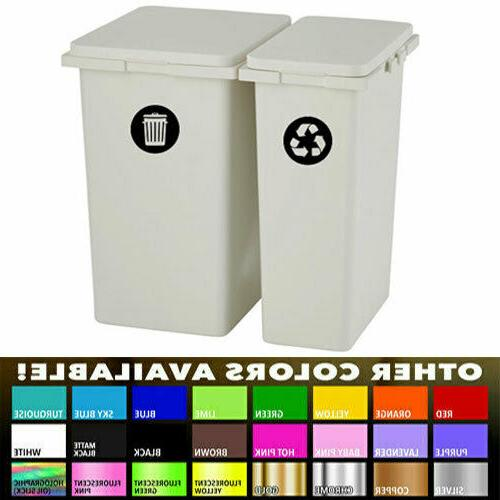 Recycle Label for Home Kitchen Office Garbage cans