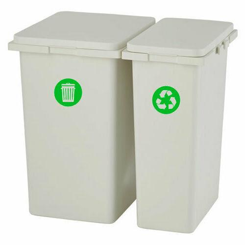Recycle Sticker Trash Label Home cans