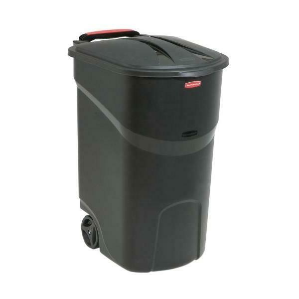 Rubbermaid Roughneck With 45 Gal. Black New