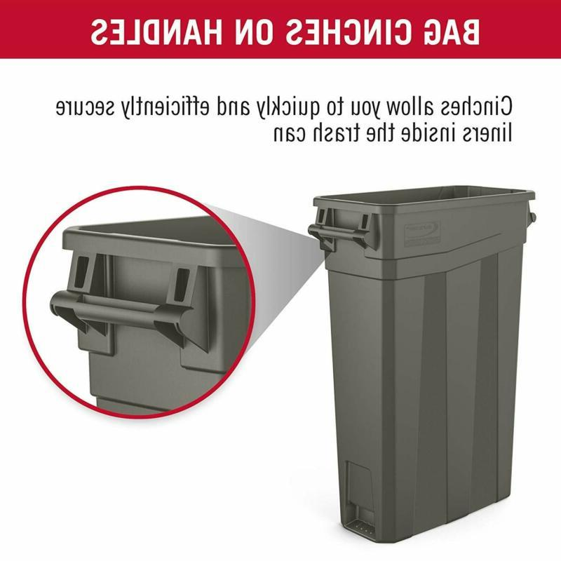 """Suncast Commercial Trash With 30.00"""" Height X"""