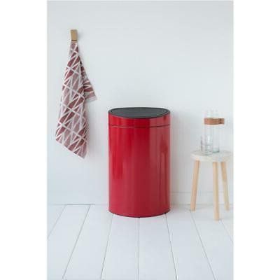 Brabantia Touch Bin Trash Can with Plastic Insert Waste Garb