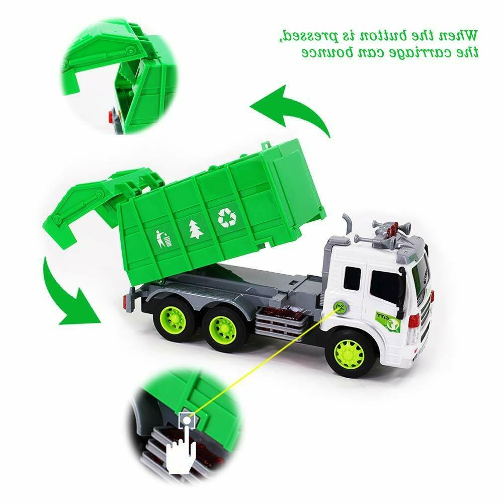 Toys Children Garbage Truck+3 Cans for 4 5+