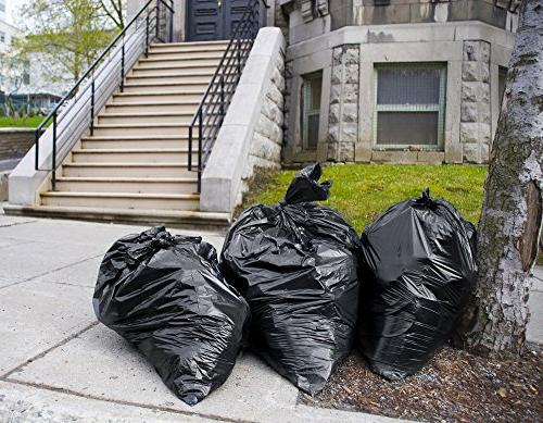 "95 Gallon Trash Bags, Extra Large Equivalent 2 Mil Strength, 68""H."