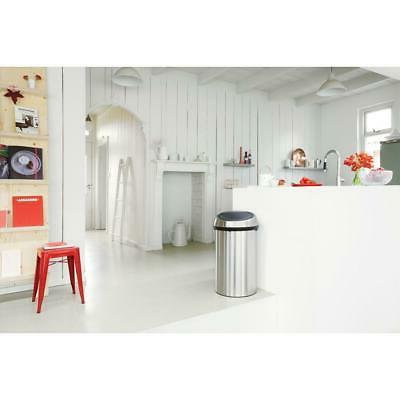 Brabantia Touch Top Can 16 Stainless Steel