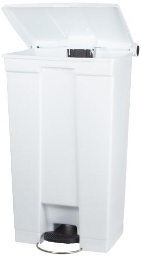 Step Waste Container - 12 Gallon Red