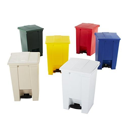Step Waste Container - Gallon Red
