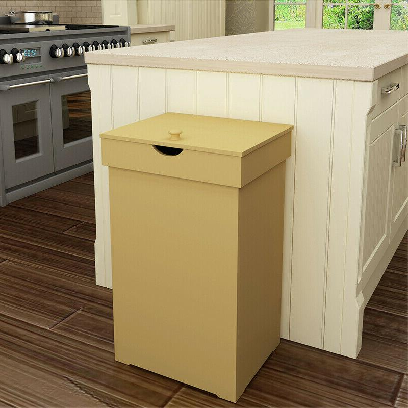 13 Gallon Trash with Wastebasket Kitchen Trash Can