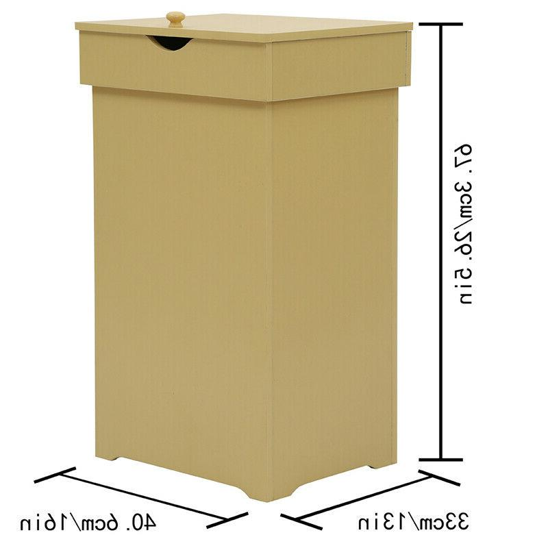 13 with Wastebasket Trash Can