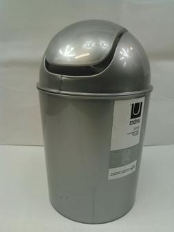 Umbra Mini Trash Can, 5L Swing Lid Countertop Wastebasket 1.